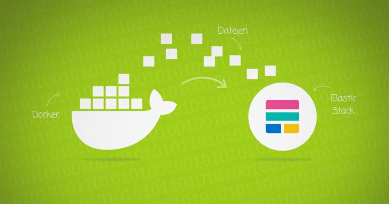 Docker sendet Daten an den Elastic-Stack