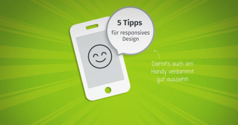5 Tipps responsive Design