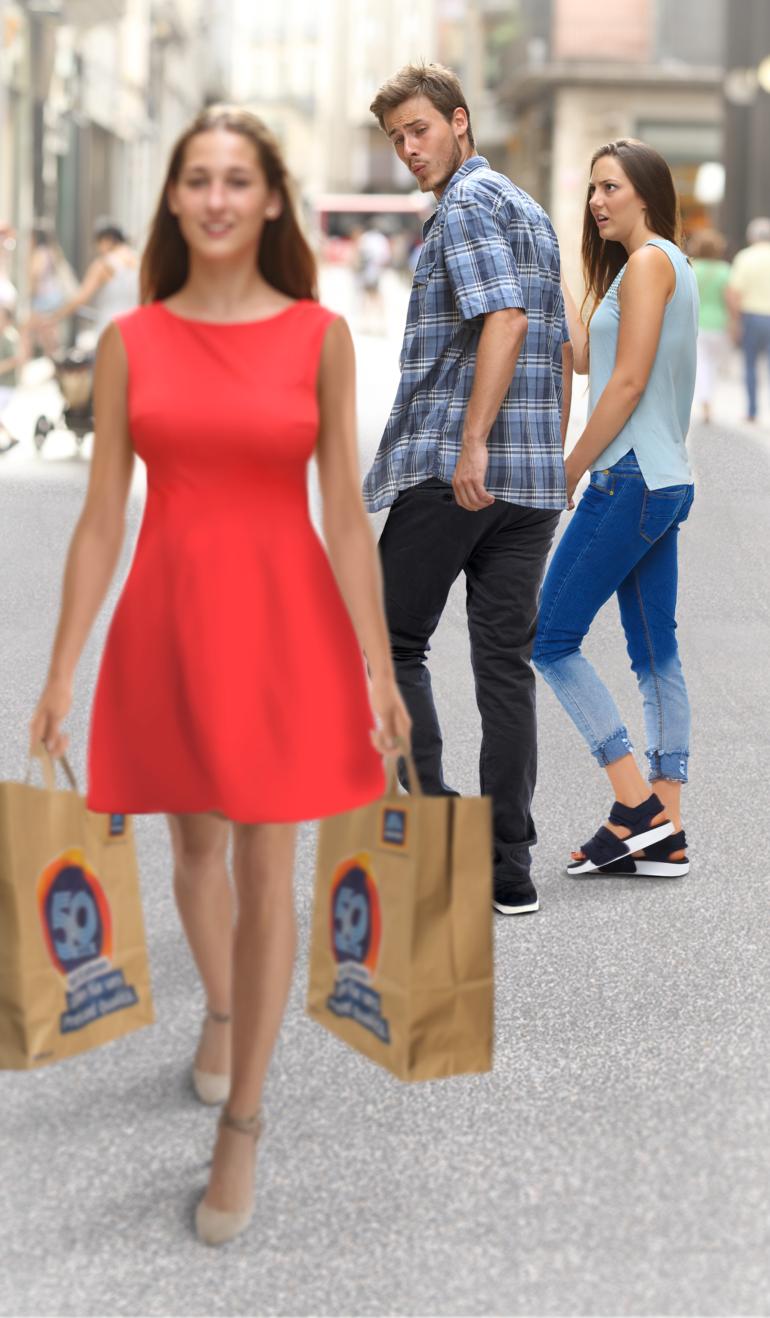 Schauen frauen warum hinterher männer Warum gehen