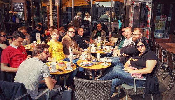 MageFrühstück im Spizz. Bild: DerMatz_DE