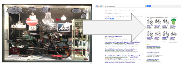 Beispiel Google Shopping Ads