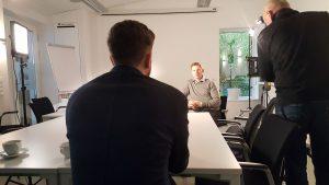 Philipp Pfaller im Interview mit ORF Redakteur Benedict Feichtner
