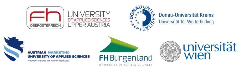 Fachhochschulen und Universitäten an denen das LimeSoda-Team unterrichtet