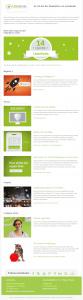 Screenshot LimeSoda Newsletter