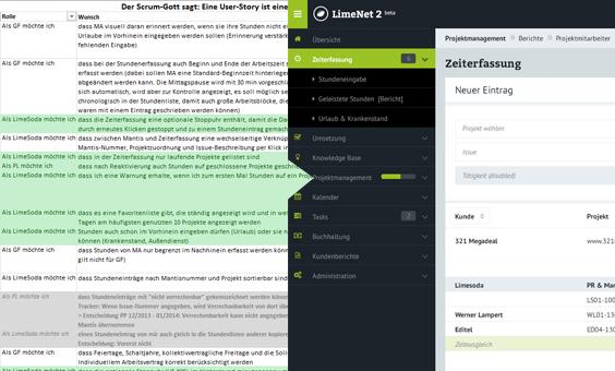 Von der Userstory zur fertigen Umsetzung