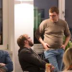 Rudi und Christoph im Gespräch