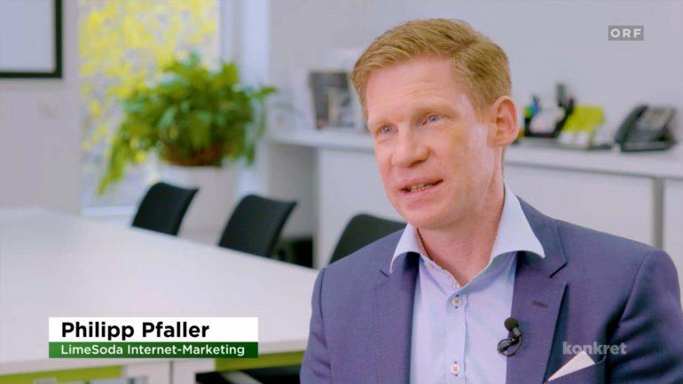 LimeSoda CEO Philipp Pfaller erklärt Suchmaschinen