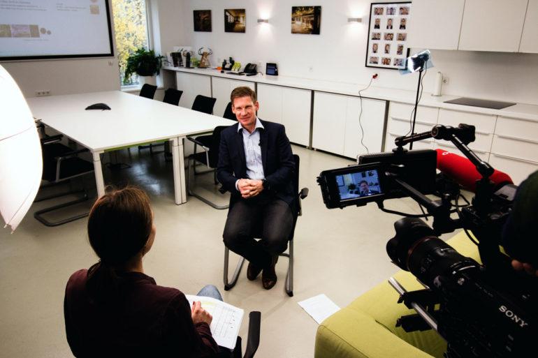 Judith Langasch interviewed Philipp Pfaller