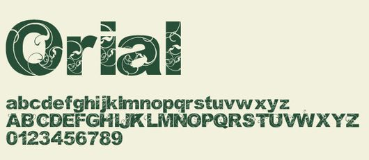 Orial-font