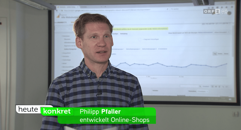 Philipp Pfaller im ORF-Interview zum Thema Dynamic Pricing