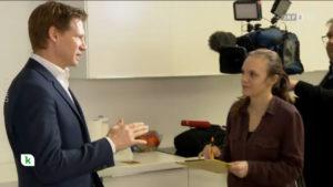 Screenshot: Philipp Pfaller im heute konkret Interview bei Judith Langasch