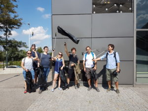 LimeSoda Trash Busters auf der Wiener Donauinsel