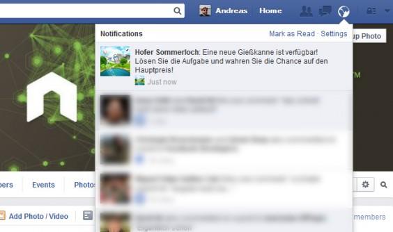 App Notifications Hofer