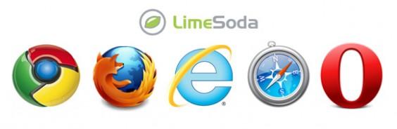 Wir haben die Websites des LimeSoda-Netzwerks untersucht: wieviele User verwenden Internet Explorer 9, Firefox 4, Safari, Chrome, IE6 etc.?