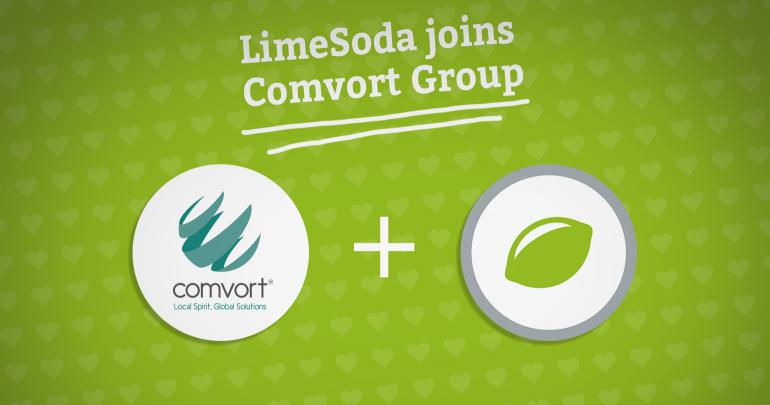 LimeSoda wird Partner für E-Business und Digitalmarketing in der Comvort Group in Wien