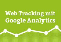 Web Tracking mit Google Analytics