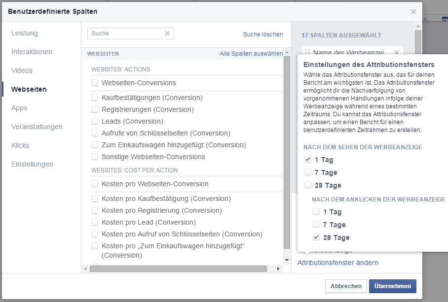 Facebook Bericht erstellen