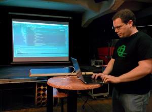 @joeadomeit presenting Attribute Configurator #Magento Bild: firegento
