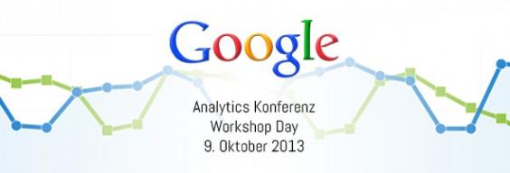 Google Analytics Konferenz 2013 - Workshop Day