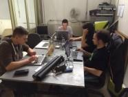 Hackathon_MailGuard Gruppe, Foto: @andreflitsch