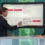 Philipp Pfaller live im ORF-Studio bei Martina Rupp