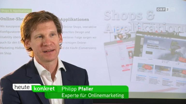 LimeSoda Geschäftsführer Philipp Pfaller als Gast in der ORF-Konsumentenschutzsendung heute konkret