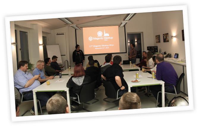 Magento-Stammtisch Wien (jetzt: Magento Meetup Austria) im September 2016