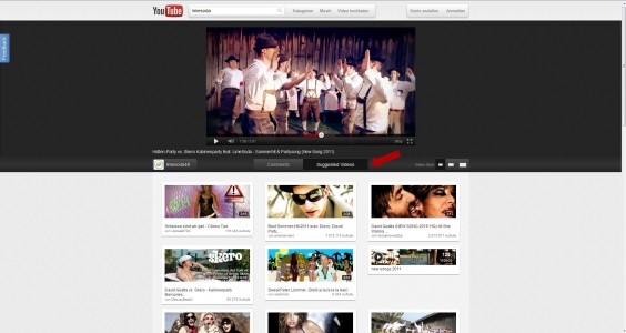 New Design YouTube - Related Videos