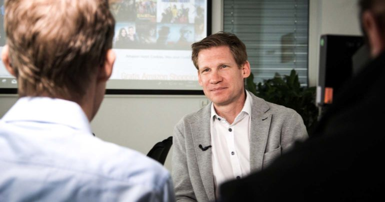 Philipp Pfaller im ORF Interview zum Thema Amazon