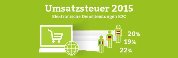 Neue Festlegung des Leistungsortes im Umsatzsteuergesetz 2015.